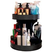 "Professional Stylists and ""Divas"" Will Love 15"" Wide, Spinning Cosmetic Organizer. Great for Salons or for Cosmetic Divas! Made by PPM in the USA!"