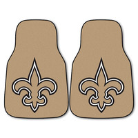 New Orleans Saints NFL Car Floor Mats (2 Front)