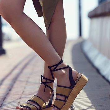 Free People Cable Beach Platform Sandal