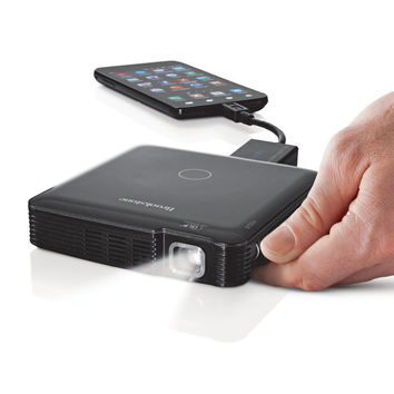 Compact 85-Lumen Pocket Projector Lets You Take the Big Screen with You—Buy Now!