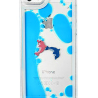 SWIMMING WITH THE DOLPHINS IPHONE CASE