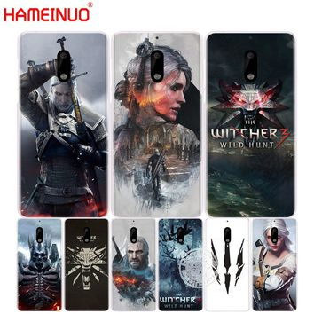 HAMEINUO The Witcher Wild Hunt cover phone case for Nokia 9 8 7 6 5 3  Lumia 630 640 640XL 2018