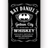 Bat Daniel s Gotham City Whiskey for iPhone 4/4S Case **
