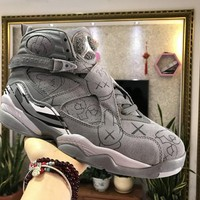 Air Jordan 8 ¡°Cool Grey¡± Basketball Sneaker