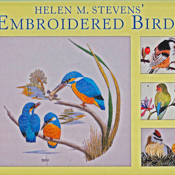Embroidered Birds The Masterclass Embroidery Series by 7thStash