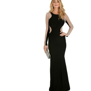 Jocelyn- Black Formal Dress