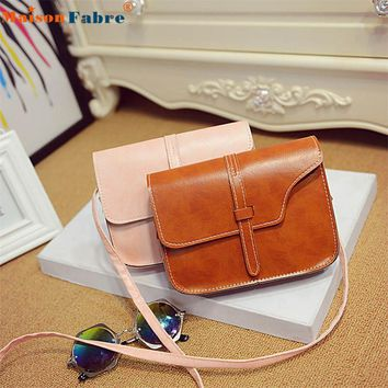 NEW Handbag Women Girl Shoulder Bag Faux Leather Satchel Crossbody Tote Handbag bolsa feminina handbag women Drop Shipping