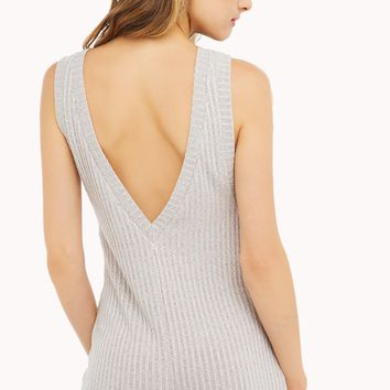 Romper | Grey Rompers | Ribbed Casual Rompers - AKIRA