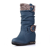Womens Lovely City Casual Boots
