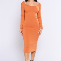 Finesse Me Dress - New Amber