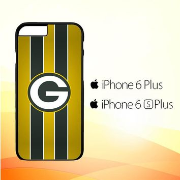Green Bay Packers Logo American Football Sport E1012 iPhone 6 Plus|6S Plus Case