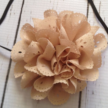 Baby Girl Headband...Flower Headband...Toddler Headband...Newborn Headband