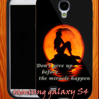 Ariel The Little Mermaid Quotes,Phone cover,Iphone case,Samsung case - Drop for iphone 4 4s 5 case Samsung s2 s3 s4 case-AA30613-14