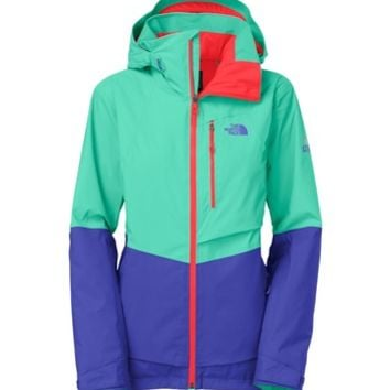 The North Face Women's Sickline Jacket - Green-Ski Apparel-Skiing-SOLO SPORTS - Sport Chalet