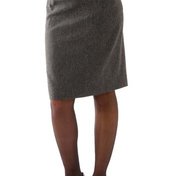 L'Avenue des Bebes Maternity Pencil Skirt - Grey