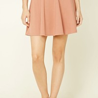 Stretch-Knit Flared Skirt