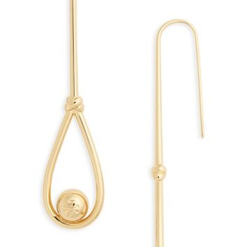 Tory Burch Logo Linear Drop Earrings | Nordstrom