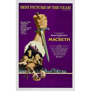 The Tragedy of Macbeth 27x40 Movie Poster (1971)