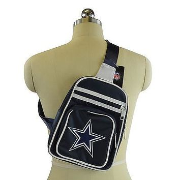 Licensed Official Brand New NFL Dallas Cowboys Mini Cross Bag / Backpack
