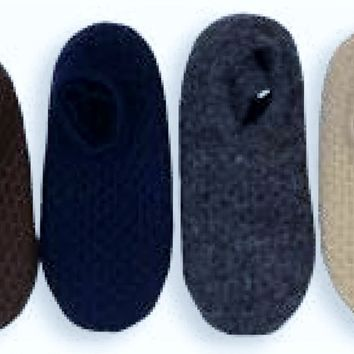 Alpaca Blend Slippers with Padded Sole