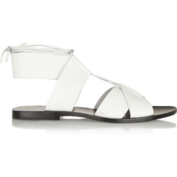 Alexander Wang Marlene leather sandals – 50% at THE OUTNET.COM