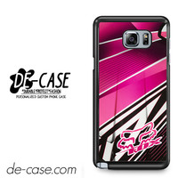 Fox Pink Motocross For Samsung Galaxy Note 5 Case Phone Case Gift Present