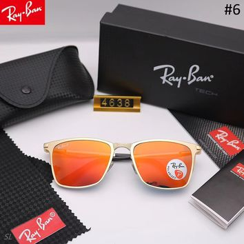 RayBan trend men and women driving driving color film large frame sunglasses #6