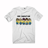 one direction minion t-shirt unisex adults
