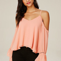 LISA COLD SHOULDER TOP