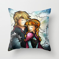 Fixeruppers Throw Pillow by Mandie Manzano