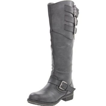 Madden Girl Women's Lundunn Knee-High Boot - designer shoes, handbags, jewelry, watches, and fashion accessories | endless.com