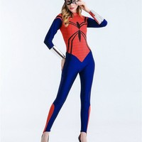 Women Spiderman Costume  Jumpsuits