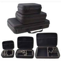 Portable Travel Storage Case Collection Box Protective for Gopro Hero 3/4 Sj 4000 XiaomiYi Action Camera Sport Cam Accessory