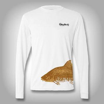 Fish Wrap Shirt -  Carp - Performance Shirts - Fishing Shirt