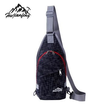 Sports gym bag Premium Backpack Gifts Men Durable Nylon Small Chest Bag Outdoor Travel Sport Shoulder Bag Sling Backpack Women  KO_5_1