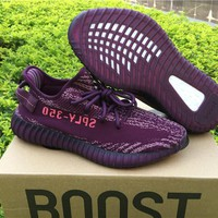 Adidas Yeezy Boost 350 V2 Purple Red 36---46