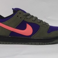 Permanent Vacation Skate & Surf Shop   Nike Sb Dunk Low Olive/Atmc Red