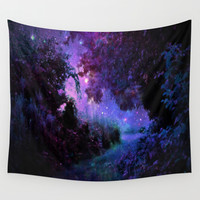 Fantasy  Wall Tapestry by 2sweet4words Designs