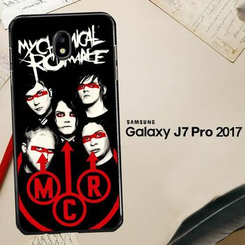 My Chemical Romance C0351 Samsung Galaxy J7 Pro SM J730 Case
