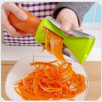 Creative Kitchen Tool Multi-Purpose Stainless Steel Rotating Shredder Kitchen Accessories Graters Free Shipping