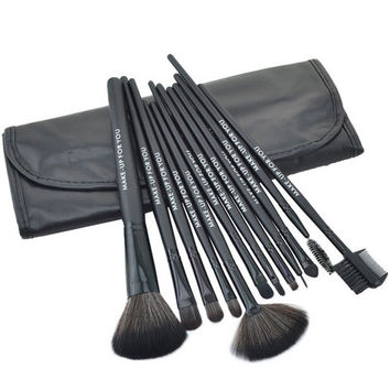 Black 12-Piece Brush Collection