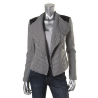 Calvin Klein Womens Panel Long Sleeves Jacket