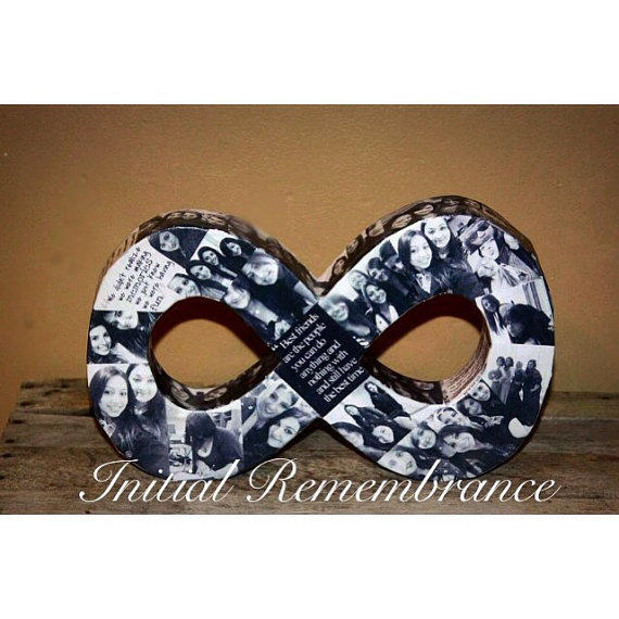 Custom Photo Collage Infinity Girlfriend From InitialRemembrance