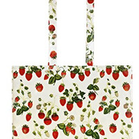 Ulster Weavers RHS Strawberry PVC Shoulder Bag
