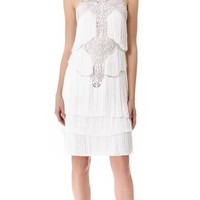 Marchesa Tiered Tassel Cocktail Dress | SHOPBOP Save 20% with Code WEAREFAMILY13