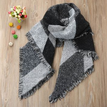 New Automn Spring Winter Women Warm Wool Scarf Ladies Fashion Cashmere Stole Scarves Scarf Female Tassel Shawl Blanket Scarf