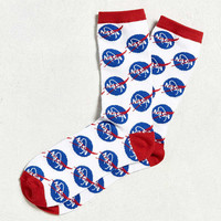 NASA Meatball Logo Sock | Urban Outfitters