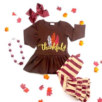 RTS Thankful Feather 2pc D87