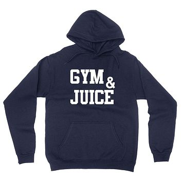 Gym and juice, workout clothing, gym, fitness, yoga hoodie