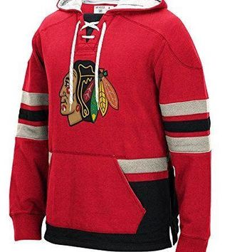 Chicago Blackhawks Red CCM Heavyweigt Hoodie